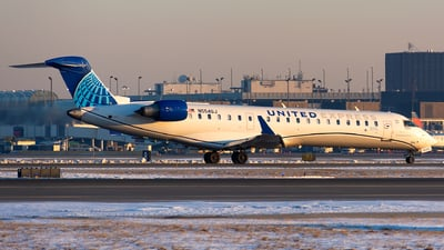 N554GJ - Bombardier CRJ-550 - United Express (GoJet Airlines)
