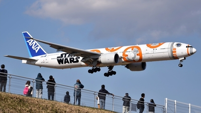 JA789A - Boeing 777-381ER - All Nippon Airways (ANA)