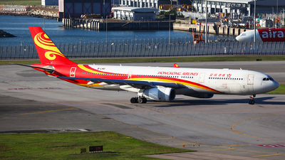 A picture of BLNO - Airbus A330343 - Hong Kong Airlines - © Ching Ho