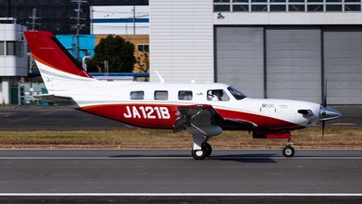 JA121B - Piper PA-46-500TP Malibu Meridian - Private