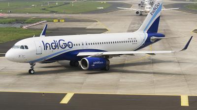 VT-IFJ - Airbus A320-232 - IndiGo Airlines