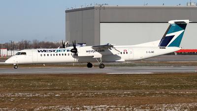 A picture of CGJWE - De Havilland Canada Dash 8400 - WestJet - © Daniel Lapierre Forget