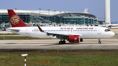 B-323D - Airbus A320-271N - Juneyao Airlines