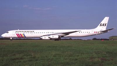 OY-KTG - Douglas DC-8-63(PF) - Scandinavian Airlines (SAS)