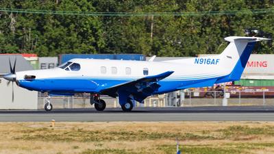 N916AF - Pilatus PC-12 NGX - PlaneSense