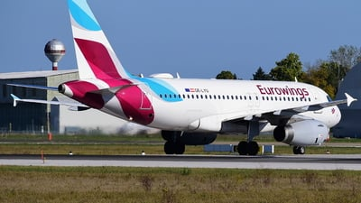 A picture of OELYU - Airbus A319132 - Eurowings - © Branko Cesljas