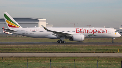 F-WZFH - Airbus A350-941 - Ethiopian Airlines