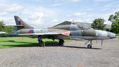 XX467 - Hawker Hunter T.7 - United Kingdom - Royal Air Force (RAF)