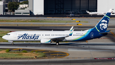A picture of N435AS - Boeing 737990(ER) - Alaska Airlines - © Devon McCune