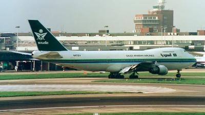 N471EV - Boeing 747-273C - Saudi Arabian Airlines