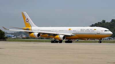 V8-001 - Airbus A340-212 - Brunei - Sultan's Flight