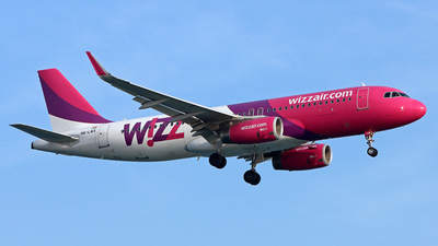 HA-LWX - Airbus A320-232 - Wizz Air