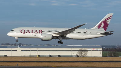 A picture of A7BCV - Boeing 7878 Dreamliner - Qatar Airways - © Stephan Wagner