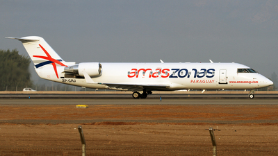 ZP-CRJ - Bombardier CRJ-200ER - Amaszonas del Paraguay