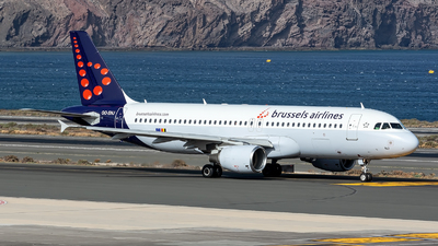 OO-SNJ - Airbus A320-214 - Brussels Airlines