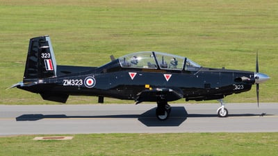 ZM323 - Raytheon T-6C Texan T1 - United Kingdom - Royal Air Force (RAF)