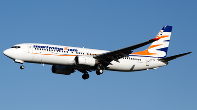 A picture of OKTSF - Boeing 7378GJ - Smartwings - © Chris Pitchacaren