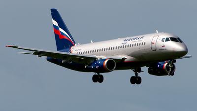 A picture of RA89023 - Sukhoi Superjet 10095B - Aeroflot - © GoldenWingPix