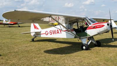 G-SWAY - Piper PA-18-95 Super Cub - Private