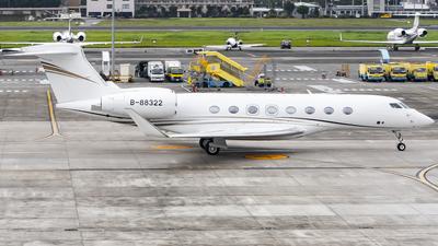 B-88322 - Gulfstream G650 - Private