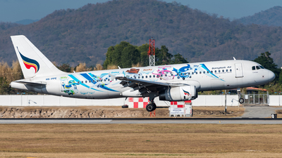 HS-PPE - Airbus A320-232 - Bangkok Airways