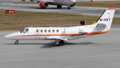M-ISKY - Cessna 550B Citation Bravo - Private