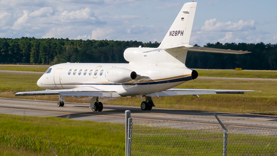 A picture of N28PH - Dassault Falcon 50 - Chicago Jet Group - © Ksavspotter