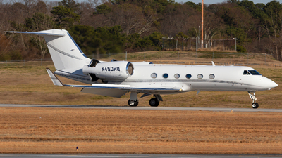 N450HQ - Gulfstream G450 - Private