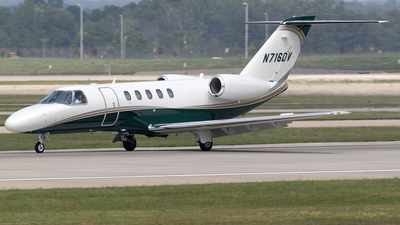 N716DV - Cessna 525 Citation CJ4 - Private