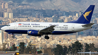 EP-VAF - Boeing 737-5Q8 - Varesh Airlines