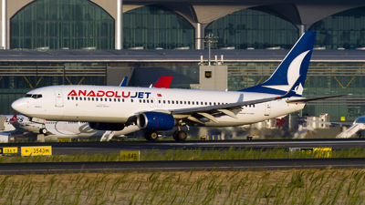 A picture of TCJFF - Boeing 7378F2 - Turkish Airlines - © Ömür Sadikoglu
