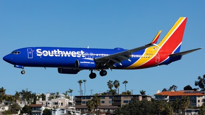 A picture of N8323C - Boeing 7378H4 - Southwest Airlines - © HAOFENG YU