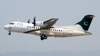 A picture of APBHI - ATR 42500 - Pakistan International Airlines - © Baqir Kazmi