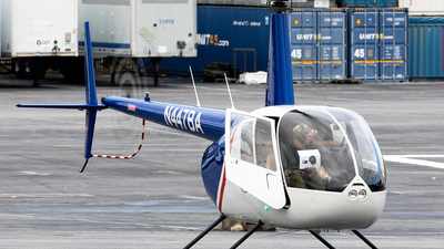 A picture of N447BA - Robinson R44 - [2263] - © HAOFENG YU