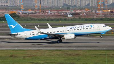 A picture of B5535 - Boeing 73785C - Xiamen Air - © YIJING HOU