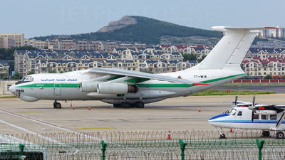 7T-WIE - Ilyushin IL-76TD - Algeria - Air Force