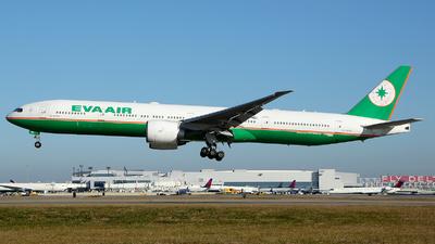 B-16706 - Boeing 777-35EER - Eva Air