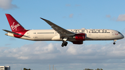 G-VNYL - Boeing 787-9 Dreamliner - Virgin Atlantic Airways