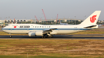 A picture of B2486 - Boeing 74789L - Air China - © Wanping Chen