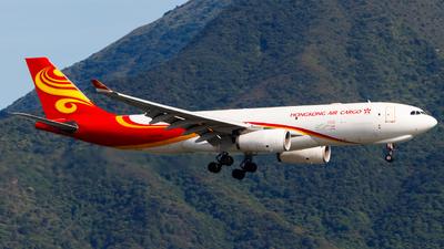 A picture of BLNZ - Airbus A330243F - Hong Kong Air Cargo - © Thomas Tse