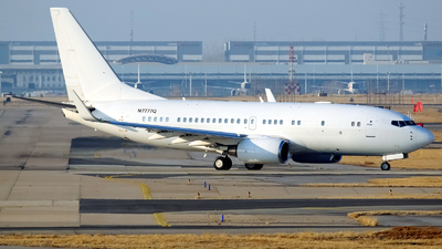 N7777Q - Boeing 737-7BC(BBJ) - Private