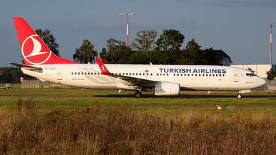 TC-JVU - Boeing 737-8F2 - Turkish Airlines