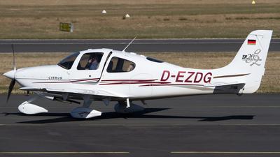 D-EZDG - Cirrus SR20-G2 - Motorflugschule Egelsbach
