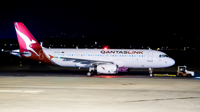 VH-UVJ - Airbus A320-232 - QantasLink (Network Aviation)