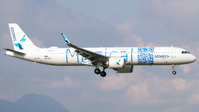 A picture of CSTSH - Airbus A321253NX - Azores Airlines - © Juan David Mancipe