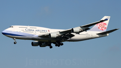 B-18206 - Boeing 747-409 - China Airlines