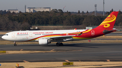 A picture of BLNI - Airbus A330223 - Hong Kong Airlines - © BennyH