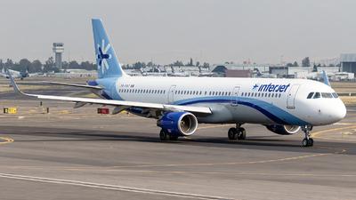 XA-PAT - Airbus A321-211 - Interjet