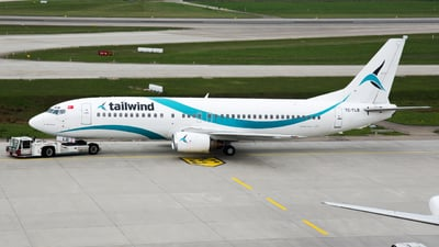 TC-TLB - Boeing 737-4Q8 - Tailwind Airlines