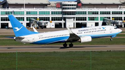 A picture of B1970 - Boeing 73785C - Xiamen Air - © Jack  Li